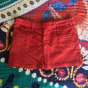BCBG Generation Orange Skirt